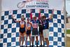 Men's 45-49 Kilo TT - L to R - Eric Waterman, Robert Isner, Brett Clare, Victor Williams and Robert Bodamer