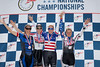 Women's 35-39 500m TT Podium - L to R - Cindi Vargas, Shane Ellis, Heather VanValkenburg and Christine D'Ercole