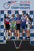 Mens 30-34 Kilo TT Podium - L to R - Jeffrey Whiteman, Jonathan Fraley, Joshua Ryan, Martin Houston and Andrew Kruse