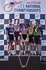 Mens 35-39 Kilo TT Podium - L to R - Jason Garner, Ryan Crane, Allen Vugrincic, Wesley Pierce and Quinn Hatfield