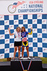 Womens 55-59 2km TT Podium - L to R - Barbara Thiele and Rita Kacala