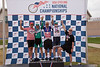 Mens 65-69 2 km TT Podium - L to R - Mike Macdonald, Leo Menestrina, John McQuaide, David Trousdale and John Forbes