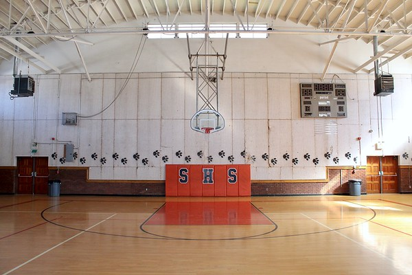 Historic Superior High School gymnasium (2019)