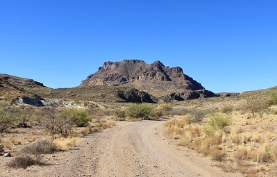 Approaching Picketpost Mountain on Telegraph Canyon Road (2018)