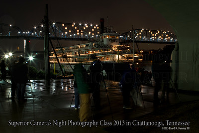 Superior Camera's Night Photography Class  Chattanooga, Tn. Sunday December 8th, 2013  Photography By: Lloyd R. Kenney III ©2013 All Rights Reserved Contact Info: LloydKenneyiii@gmail.com