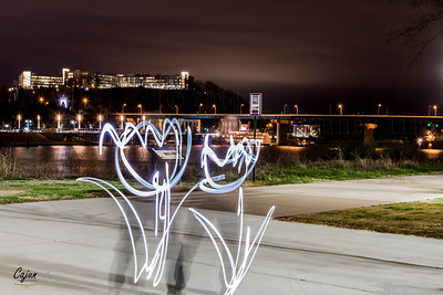 """""""Painting With Light""""  Superior Camera's Night Photography Class Saturday March 29th, 2014. Chattanooga Tn. Photography By: Lloyd R. Kenney III © 2014 All Rights Reserved. Contact Info: LloydKenneyiii@Gmail.com"""