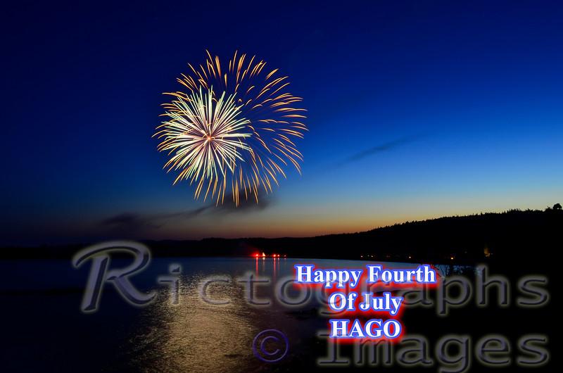 Lake Superior Fireworks