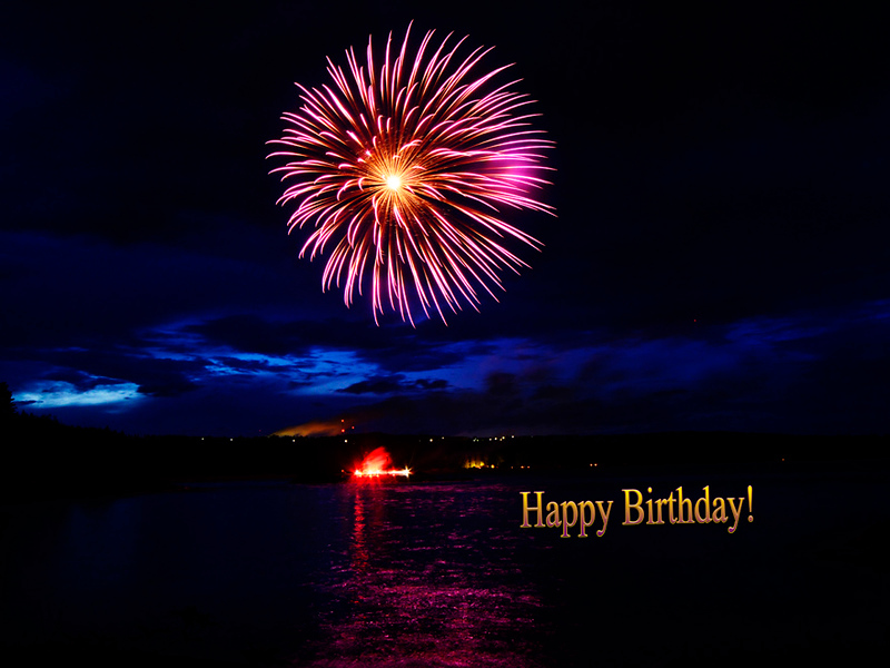 A Happy Birthday e-Card, By Rictographs Images