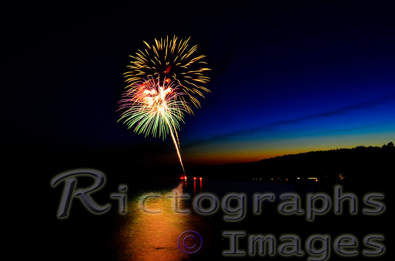 1st July, Canada Day, Fireworks