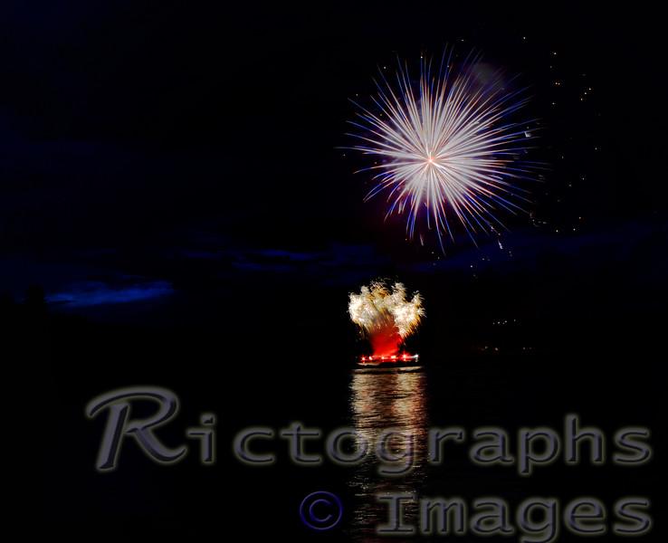 Summer 2016, Fireworks, Rictographs Images