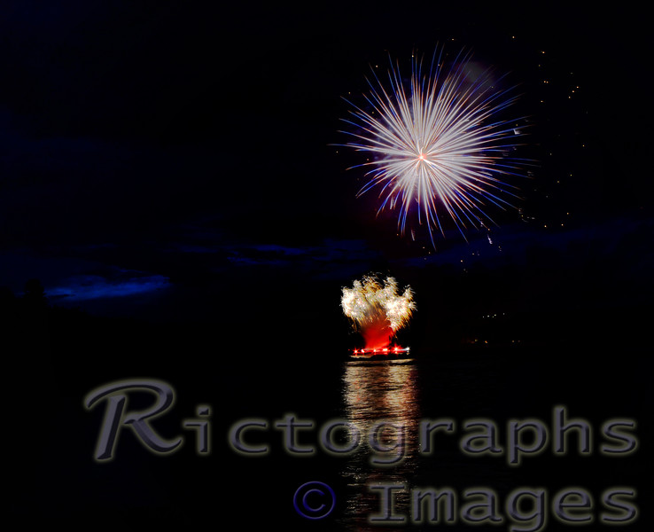 Summer 2016, Fireworks, Rictographs Images