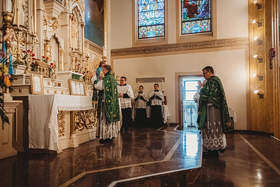 3430 FSSP Superior General St  Mary LatinMass