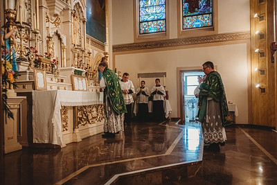 3432 FSSP Superior General St  Mary LatinMass