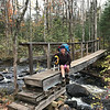 Volunteers of the SHT (Superior Hiking Trail) work hard to build and maintain the trail and the bridges along the way. So thanks to them that we get to be here and enjoy them!