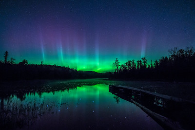 Canadian Border Aurora-Fall 2014