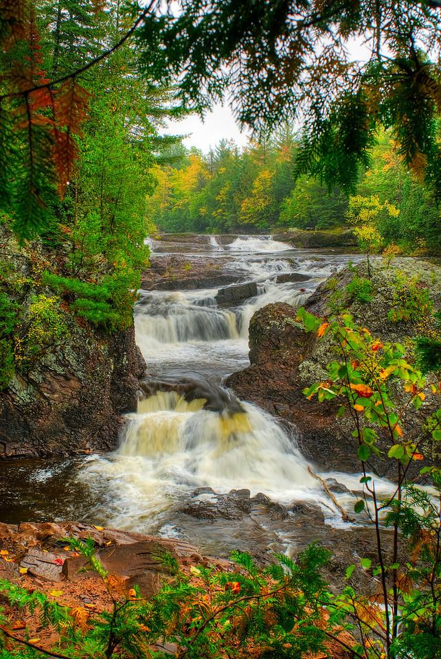 Potato River Falls, Northern Wisconsin