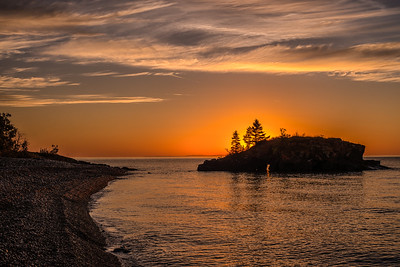 Hollow Rock Sunrise Fall 2014