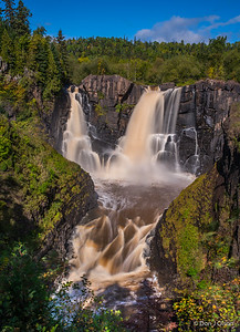 High Falls on the Pigeon River, Grand Portage State Park.