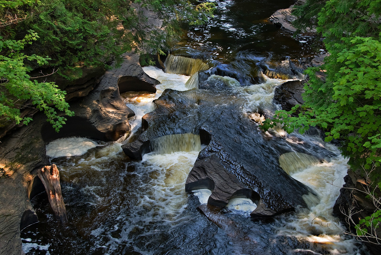 Presque Isle River, Porcupine Mountains State Park, Michigan