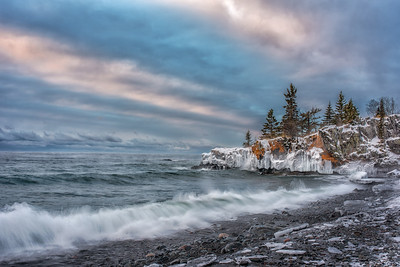 Sub Zero Hollow Rock Beach-Jan 2015