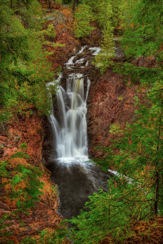 Brownstone Falls, Copper Falls State Park, Mellen Wisconsin
