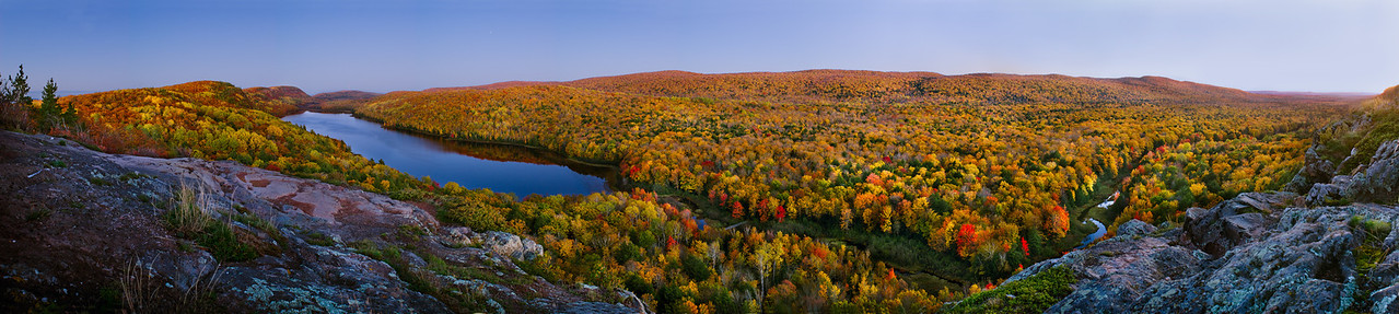 Lake of the Clouds,Porcupine Mountains State Park, Michigan.
