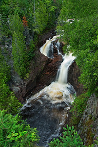 The Devils Kettle, Judge Magney State Park, North Shore MN