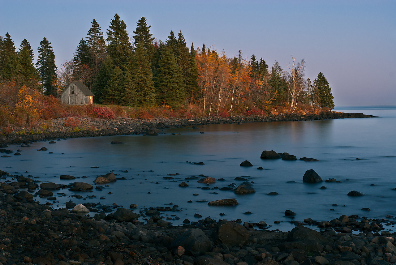 Stoney Point at Twilight