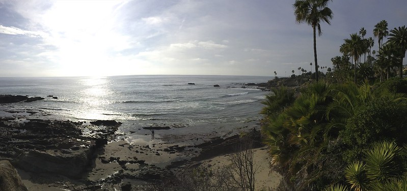 Our week began in Laguna Beach.