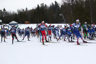 Men's Skate Mass Start 15k race
