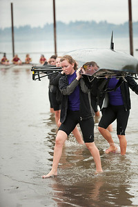 University of Portland begins NCAA Womens Rowing, fall 2011