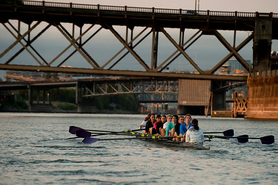 University of Portland begins NCAA Womens Rowing, fall 2011