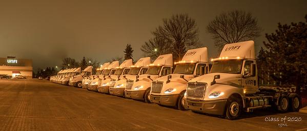 Class of 2020 truck Unfi Supervalu