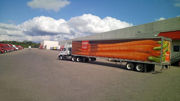 Supervalu Truck Scott Hopkins DC