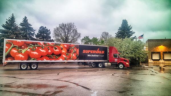 Supervalu Truck Applevalley