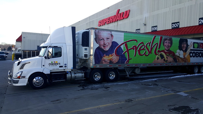 Coborn's Supervalu Transportation, Mnneapolis, MN