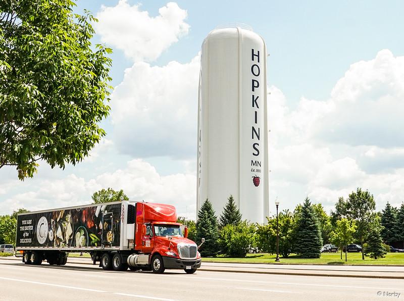 Supervalu, truck, Larry, Hopkins, Excelsior boulavard, driver, semi, 3 truck-3