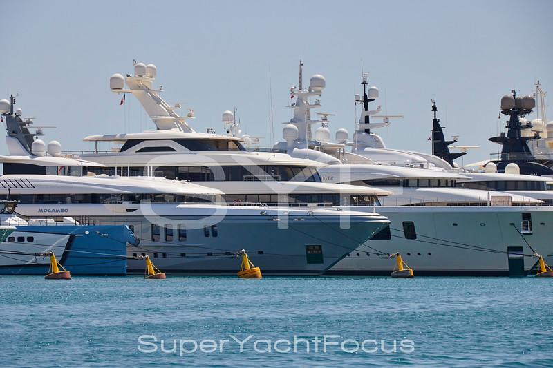 Superyachts. Port Vauban Antibes