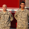 Spc. Ronald Solimando is a member of the Emerson Fire Department and Emerson Ambulance Corps.<br /> <br /> Pfc. Daniel Ardalan is a member of the Emerson Ambulance Corps.