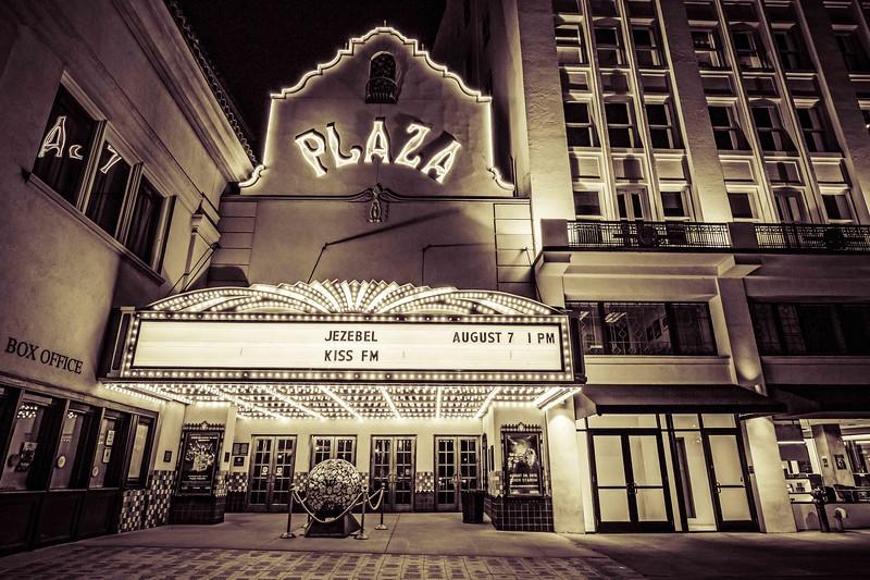The Plaza (B&W)