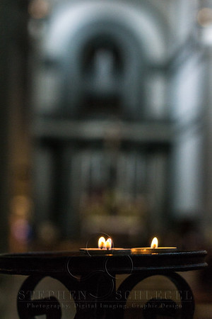 Candles and the Nave