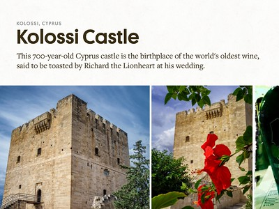 """Kolossi Castle, Cyprus""  Atlas Obscura"