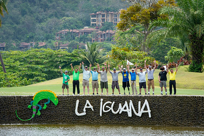The group received a golf clinic with PGA Director of Golf, Jose Quesada, at La Iguana Golf Course.