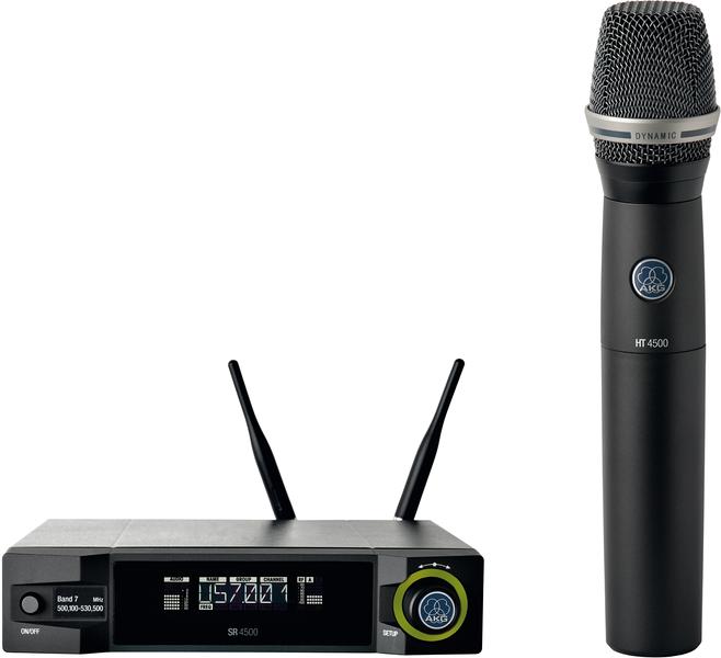 Microfone sem fios AKG WMS 4500  com cápsula D7