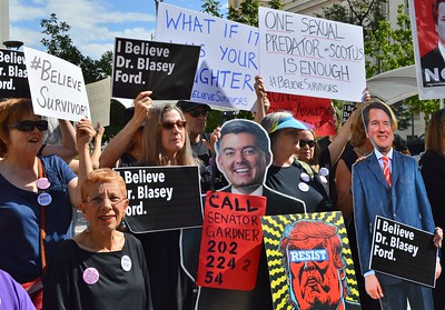Support Blasey Ford Rally (2)