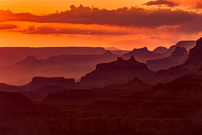 Sunset, The Grand Canyon