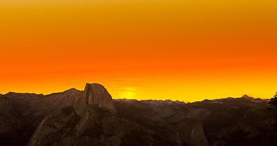 Sunrise, Half Dome