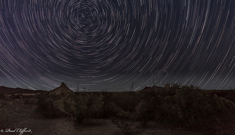 Star Trails, Big Bend National Park