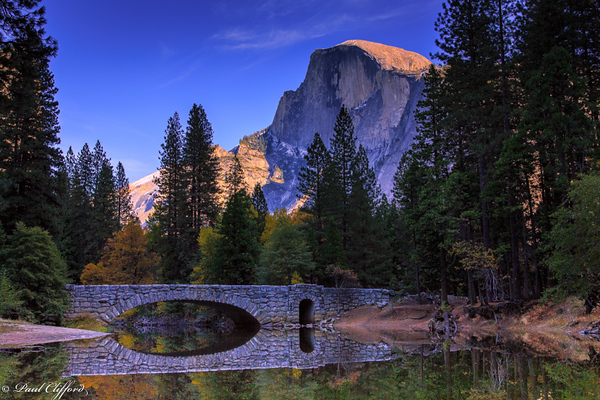 Bridge Beneath Half Dome