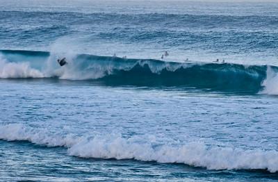 Rip Curl Pipeline Pro, Triple Crown, 2006  Early Morning at Ehukai BeachPipeline Surf Contest   North Shore, O'ahu, Hawai'i  061210.075245